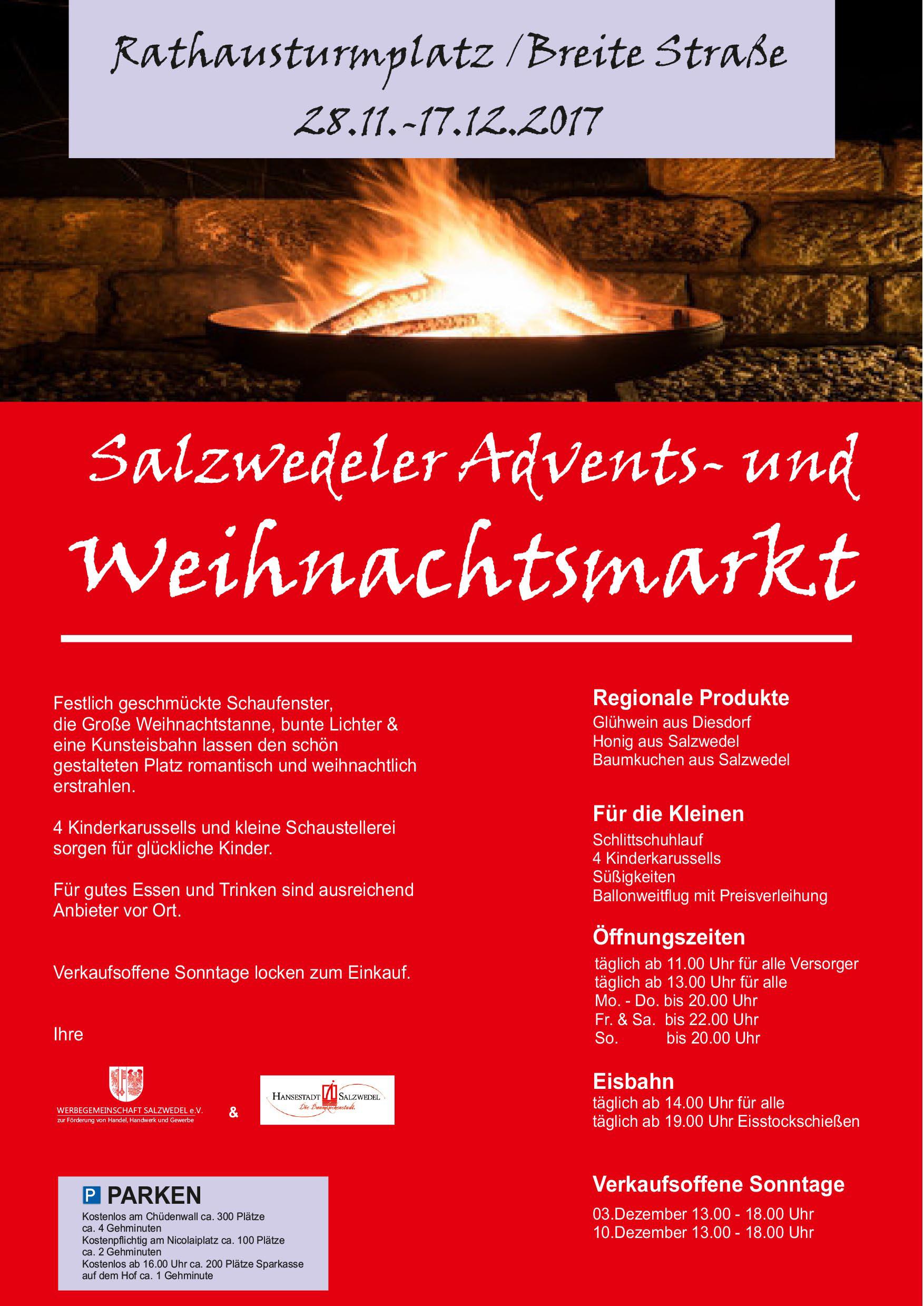 Weihnachtsmarkt Salzwedel.Salzwedel Der Weihnachtsmarkt In Salzwedel